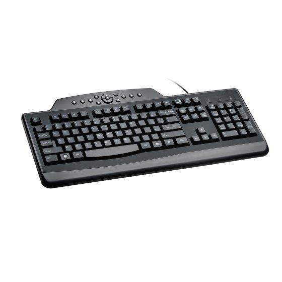 Pro Fit® Wired Media Keyboard