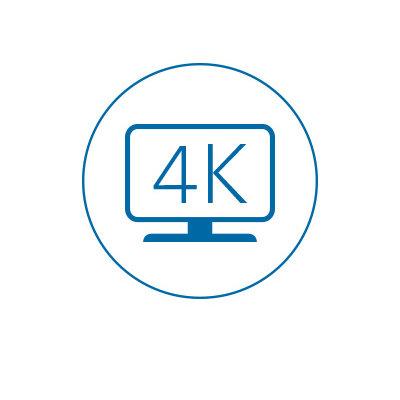 Single 4K Videoausgabe