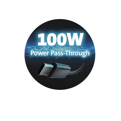 100W Power Pass-Through Power