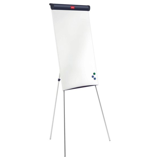Classic Steel Tripod Magnetic Flipchart Easel (Retail Pack)