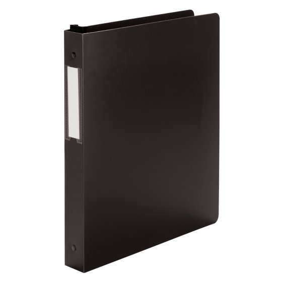 "Wilson Jones® 1"" Hanging DublLock® Round Ring Binders, Poly"
